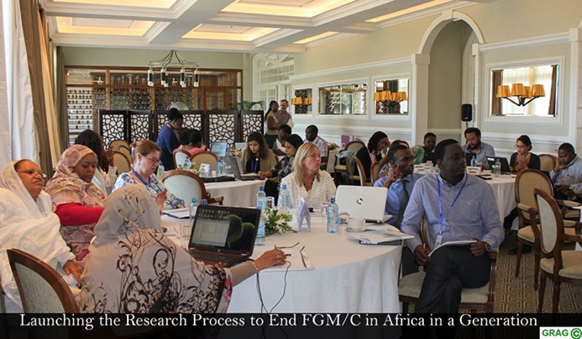 Launching the Research process to end FGM/C in Africa in a Generation